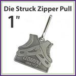 Custom Zipper Pull Die Struck