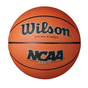 Wilson® NCAA® MVP Rubber Basketball