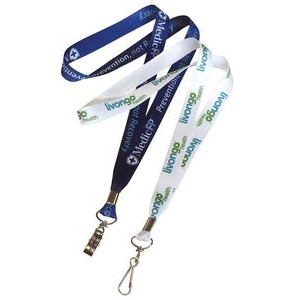 1 Day Rush USA made Full Color Sublimated Lanyard