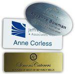 Custom Name Badge - Plastic Engraved (1