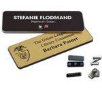 Custom 1.5'' x 3'' Name Badge w/Engraved Personalization