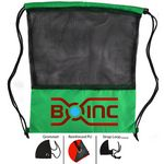 Custom Mash Drawstring Bag