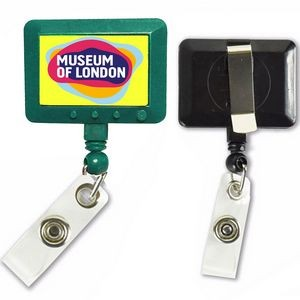 Jumbo Rectangle Badge Reel