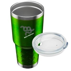 Stainless Steel Travel Tumbler - 30 oz. Tire Grip