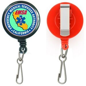 Large Retractable Badge Reel Holder