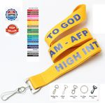 Custom Custom Lanyards - 7 DAYS Delivered Printed Polyester 3/4