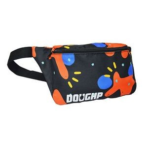 Rush Ship Fanny Pack sublimation full color waist sports bag
