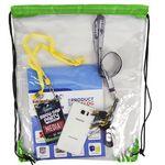 Custom See Through Drawstring Bag
