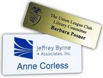 Custom Name Badge - Plastic Engraved