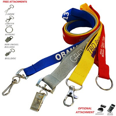 "3/4"" Polyester Lanyards (20 mm)"