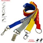 Custom Polyester Lanyards 3/4