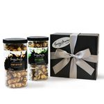 Custom Salty Sweet Duo w/Chocolate Popcorn & Peanut Butter Cup Popcorn