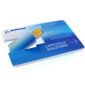 USB Credit Card Drive - 256MB