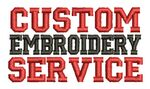 Custom Custom Embroidery Service
