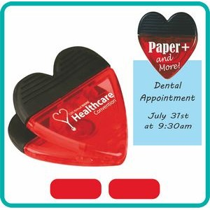 Heart Shaped Magnet Clip
