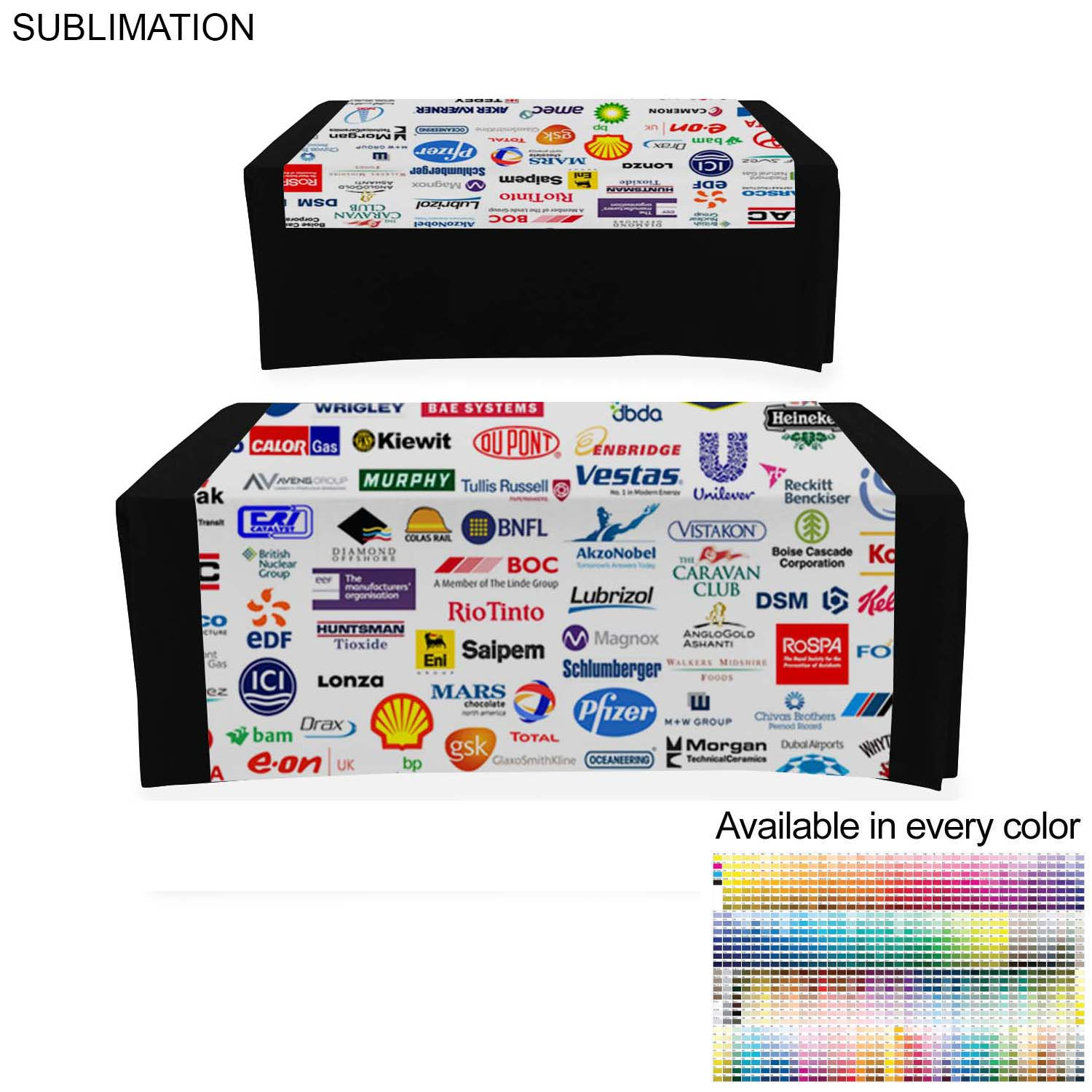 Table Runner, 60x72, #SU621, Full Colour Imprint