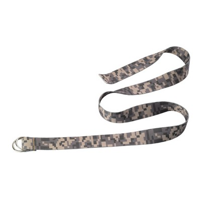 Dye Sublimated Belt with Double D Ring