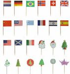 Custom Toothpick Flags