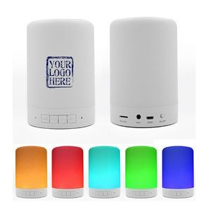 Touch Sense LED Nightlight & Bluetooth Speaker