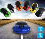 Custom Sports Car shaped 2.4G Wireless Mouse - Multiple colors