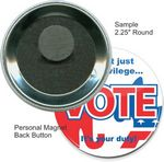 Custom Custom Buttons - 2 1/4 Inch Round, Personal Magnet