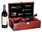 Custom Vincenza Double Wine Box