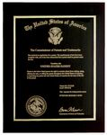 Custom Metal Patent Plaque 8