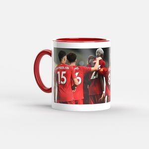 11 Oz. Full Color Two Tone Mug (Red Handle & Interior)