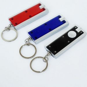 LED Mini Torch Portable Light Flashlight Key Ring Key Chains Lamp