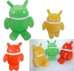 Custom 8¡± Tall Colors Android Robot Plush Toys Stuffed Dolls