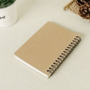 50 Sheets Double-coil Kraft Cover Notebook