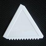 Custom Plastic Promotional Triangle Ice Scraper/Car Snow Shovel