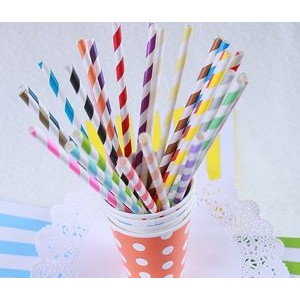Party Paper Straw