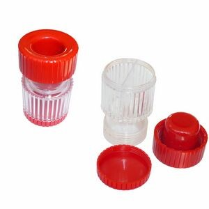 Plastic Pill Crusher with Storage