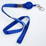 Custom ID Badge Reel & Lanyard - Office Supplies