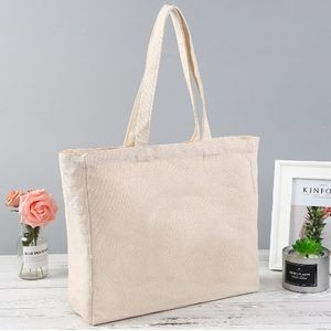 Promotional Customized Logo Tote Canvas Bag