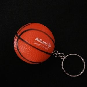 Mini Basketball PU Stress Reliever Squeeze Toy
