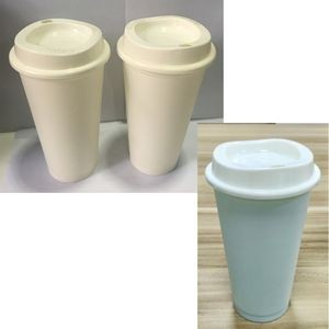 16oz Reusable Plastic Coffee Cups