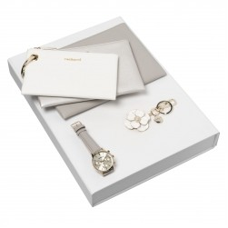 Cacharel Madeleine Set w/Key Ring & Watch