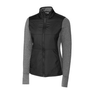 Ladies' L/S Stealth Full Zip