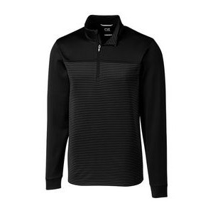 Men's big & tall Traverse Stripe Half Zip