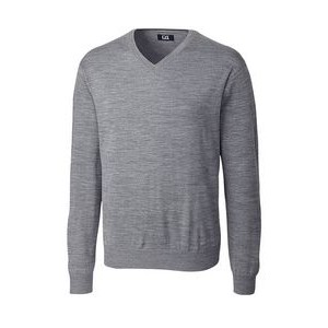 Men's Big & Tall Cutter & Buck® Douglas V Neck Sweater