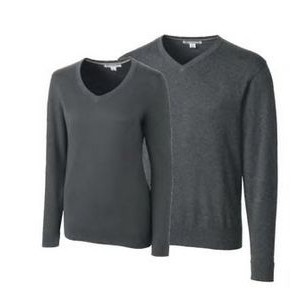 Men's Big & Tall Lakemont L/S V-Neck Sweater