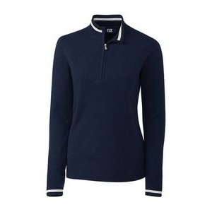 Ladies' Lakemont Tipped Half Zip