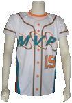 Custom Sublimated Baseball Jersey