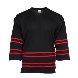 Fanwear Hockey Jersey Shirt w/ Piping