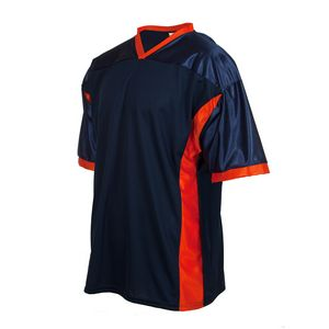 Replica football jersey with side panels