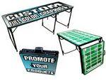 Custom 6 Ft. Beer Pong Table / Aluminum / Custom