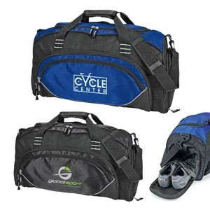 Deluxe Sports Duffel with Shoe Storage