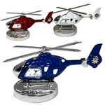 Custom Helicopter Analog Quartz Movement Clock